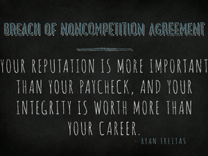 Breach-of-Noncompetition-Agreement