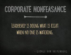 Corporate-Nonfeasance