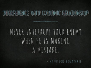 Interference-with-economic-relationship