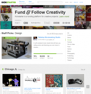 Kickstarter Crowdfunding Chicago Start Up Business