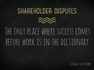 Shareholder-Disputes