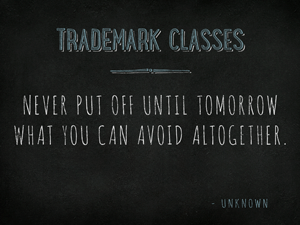 Trademark-Classes