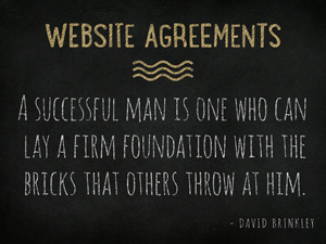 Website-Agreements