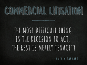Chicago Commercial Litigation Attorney