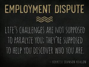 Employment-Dispute