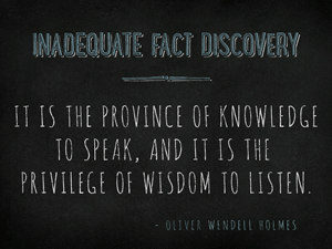 Inadequate-Fact-Discovery