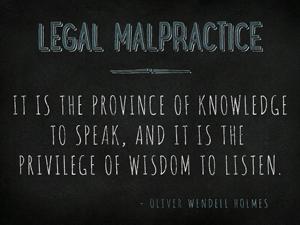 Chicago Legal Malpractice Attorney