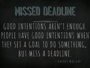 Missed-Deadline