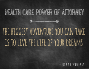 Chicago Estate Planning | Health Care Power of Attorney