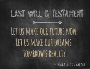 Chicago Last Will & Testament