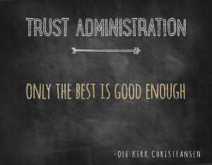 Chicago Estate Planning | Trust Administration